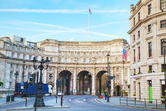 Admiralty Arch near Trafalgar Square in London Royalty Free Stock Photo