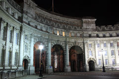 Admiralty Arch at night Royalty Free Stock Image