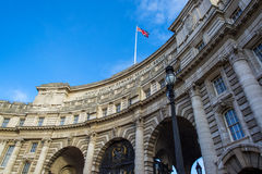 Admiralty Arch. Runs between the Mall and Trafalgar Square Stock Images