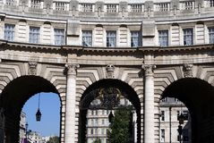 Admiralty Arch at Trafalgar Square, London, England Stock Image