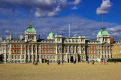Admiralty building and courtyard. London England Royalty Free Stock Image