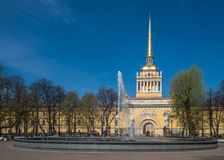 Admiralty building, Saint Petersburg, Russia Stock Photography