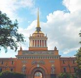 Admiralty building, Saint Petersburg Stock Photo