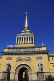 Admiralty Building in St Petersburg Stock Photography