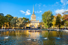 Admiralty, St Petersburg Royalty Free Stock Image