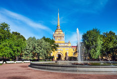 Admiralty, St Petersburg, Russia Royalty Free Stock Image