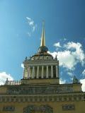admiralty byggnadspetersburg russia st Royaltyfri Foto