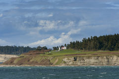 Admiralty Head Lighthouse At Fort Casey Royalty Free Stock Photos