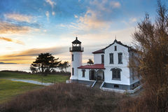Admiralty Head Lighthouse Stock Photography