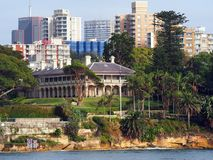 Admiralty House, Kirribilli, Sydney, Australia Royalty Free Stock Photo