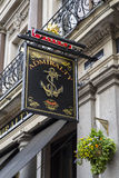 The Admiralty Public House in Central London Royalty Free Stock Images