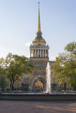 Admiralty in Saint-Petersburg Royalty Free Stock Photography