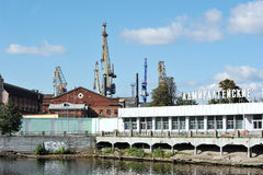 Admiralty shipyards in St. Petersburg Royalty Free Stock Image