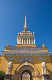 Admiralty in St Petersburg Stock Photography