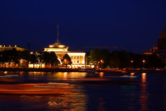 The Admiralty. St. Petersburg, Russia. royalty free stock image