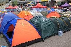 Admiralty umbrella movement in Hong Kong Royalty Free Stock Images