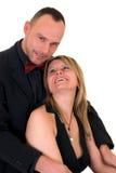 Admirateur mâle de gigolo et de femme Photographie stock libre de droits