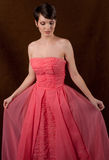Admiring the Dress Stock Photography