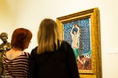 Admiring Matisse Royalty Free Stock Photo