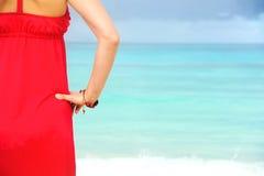 Admiring the Ocean Royalty Free Stock Photo