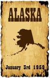 Admisión de Alaska a la unión libre illustration