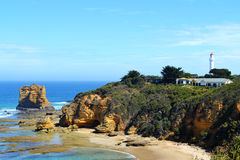Route d'océan d'admission d'Aireys grande images libres de droits