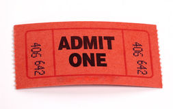 Admission Ticket royalty free stock photography