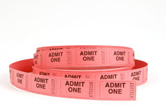 Admission Tickets Royalty Free Stock Image