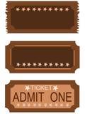 Admit One Ticket 8 Royalty Free Stock Photos