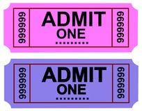 Admit  Ticket 1 Royalty Free Stock Photo