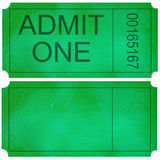 Admittance ticket Stock Photos