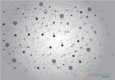 ADN abstraite de fond illustration de vecteur