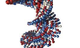 ADN Atom Stem Photographie stock libre de droits