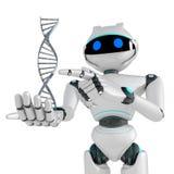 ADN de robot Image libre de droits