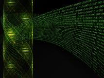 ADN e código binário Fotos de Stock Royalty Free