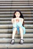 Ładna Azjatycka Dziewczyna Obrazy Royalty Free