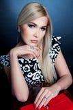 Ładna Blondynka Fotografia Royalty Free