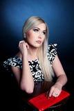 Ładna Blondynka Fotografia Stock