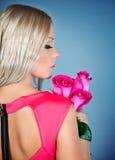 Ładna blondynka Zdjęcia Royalty Free