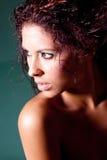 ładna brunetki kobieta Obraz Royalty Free
