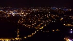 Ładna fotografia nocy miasto Zdjęcia Royalty Free
