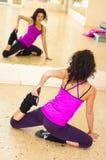 ładna gym kobieta Fotografia Stock