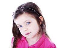 Ładna młoda dziewczyna Obraz Royalty Free