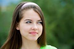 Ładna nastoletnia dziewczyna Zdjęcia Stock