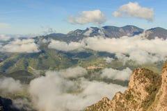 Ładna panorama z wierzchu Sobrepuny Fotografia Royalty Free