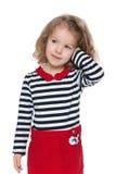 Ładna preschool dziewczyna Zdjęcia Stock
