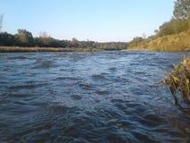 Ładna silna rzeka obrazy royalty free