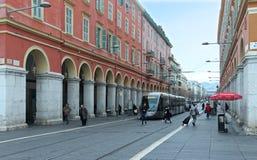 Ładna ulica Obrazy Stock