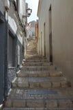 Ładna ulica w Petrer Fotografia Stock