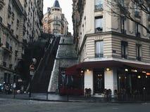 Ładne Paryskie ulicy Zdjęcia Royalty Free